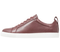 KENLEY PERFORATED TRAINER - Sneaker low - oxblood