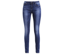 VMSEVEN Jeans Slim Fit dark blue denim
