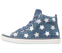 STARLE - Sneaker high - jeans/white