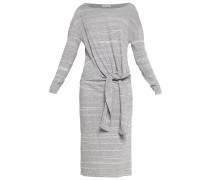 LOUISE Strickkleid grey marl