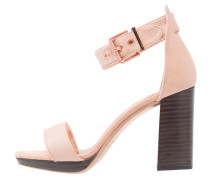 LORNO - Plateausandalette - light pink