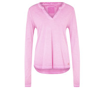 STAND UP Langarmshirt pink