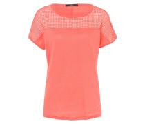 CLOE - T-Shirt print - coral
