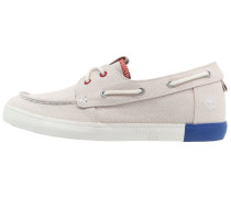 NEWPORT BAY Bootsschuh white/red/blue