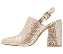 DAWN - High Heel Stiefelette - gold