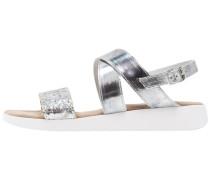 Keilsandalette - silver