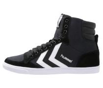 SLIMMER STADIL - Sneaker high - black/white