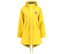 TRAVEL FRIESE - Regenjacke / wasserabweisende Jacke - yellow/denim