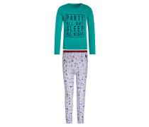 ALMA Pyjama scuba blue