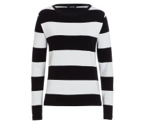 Langarmshirt black/white