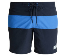 Badeshorts navy/bright blue