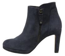 High Heel Stiefelette blue