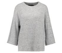 Strickpullover - grey melange