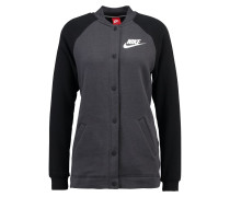 Bomberjacke anthracite/black/white