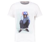 T-Shirt print - cloud dancer