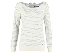 SANDY Strickpullover off white