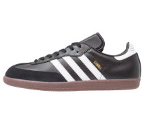 SAMBA - Sneaker low - black/run white