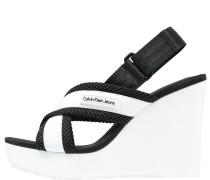 LIZZIE - High Heel Sandaletten - white/black