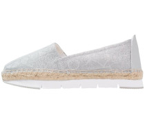 GENNA Espadrilles light silver