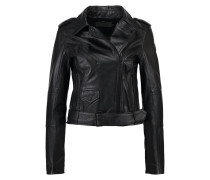 MADISON Lederjacke black