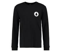 COPPER Langarmshirt black