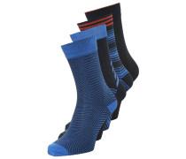 JJJACKVERTICALILLUSION 4 PACK Socken navy blazer