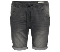 AEDAN SLIM - Jeans Shorts - grey denim