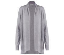 Strickjacke light grey