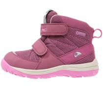 RISSA Snowboot / Winterstiefel plum/dark pink