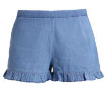 VIGIA - Jeans Shorts - light blue