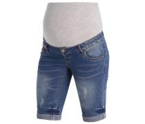 MLSCRATCH - Jeans Shorts - medium blue denim