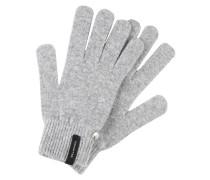 Fingerhandschuh grigio