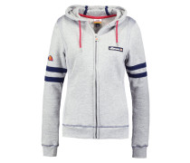ELDA Sweatjacke grey marl
