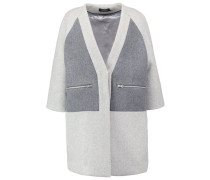 TULIP Wollmantel / klassischer Mantel grey melanged