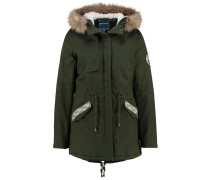 Parka dark green