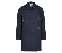Wollmantel / klassischer Mantel blue