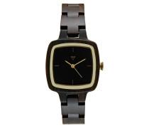 GRETA Uhr dark brown