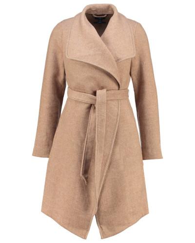 tom tailor damen wollmantel klassischer mantel desert fawn reduziert. Black Bedroom Furniture Sets. Home Design Ideas
