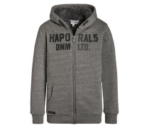 GRAL Sweatjacke dark grey melanged