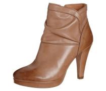 High Heel Stiefelette braun