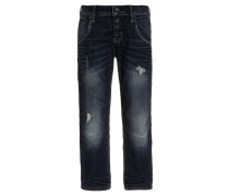 NITTIMMI - Jeans Straight Leg - dark blue denim