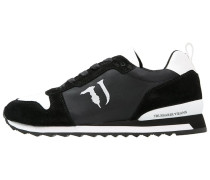 Sneaker low black/white