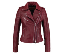 PERFECTO Lederjacke burned red