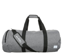 DUFFEL Sporttasche crosshatch grey
