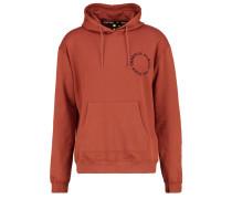 Sweatshirt rust/black