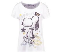 T-Shirt print - clear white