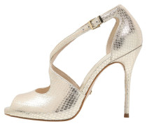 High Heel Peeptoe ouro
