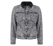 Jeansjacke moonwash denim