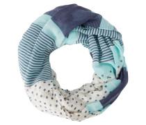 Schlauchschal turquoise/navy