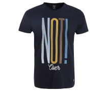 NOT - T-Shirt print - marine blue